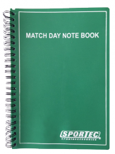 Match day notebook