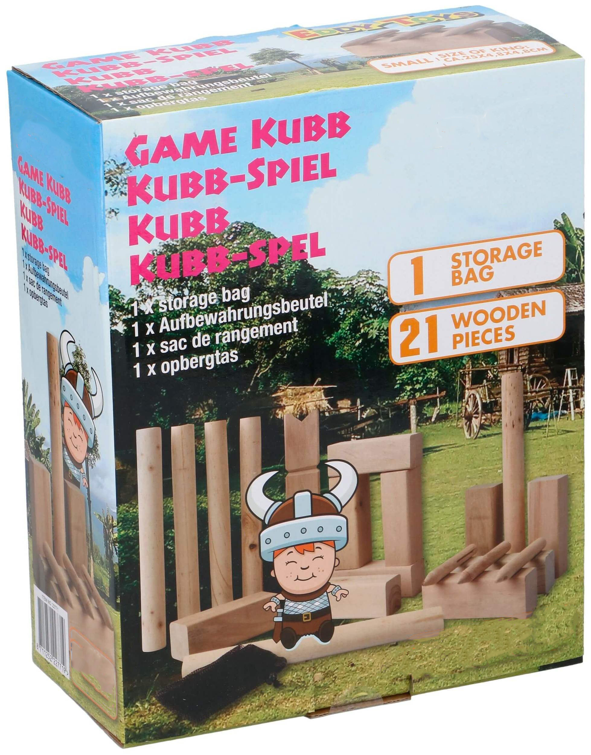 Kubb werpspel Large
