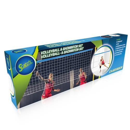 Scatch volleybal/batminton set