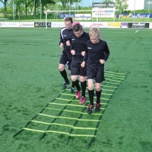 Trainingsladder met 3 banen