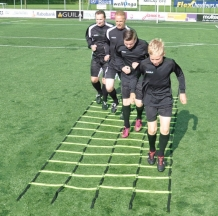Trainingsladder met 4 banen
