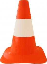 Spiksplinternieuw Pion Oranje met witte band zware kwaliteit 30 cm | Afbakenkegel 30 cm FA-11