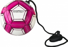 iCoach Mini Training Ball Roze