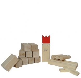 Kubb Semi-Pro Basic (6 marking sticks)